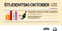 Ditka in Feri Lainšček: glasbeno-literarni večer