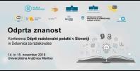 Konferenca Odprta znanost 2019