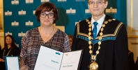 Nagrada Univerze v Mariboru za strokovno delo dr. Vlasti Stavbar