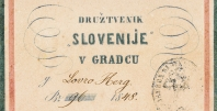 Članska izkaznica društva Slovenija, UKM, Rokopisna zbirka