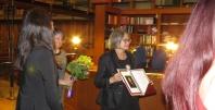 Dr. Jerneja Ferlež - prejemnica Čopove diplome