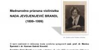 Vabilo na pogovor o mednarodno priznani violinistki