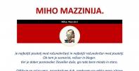 Pogovor z Miho Mazzinijem
