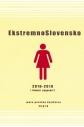Naslovnica knjige: Ekstremno slovensko