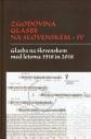 Naslovnica knjige: Zgodovina glasbe na Slovenskem IV.