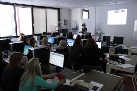 Učenci v učilnici